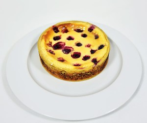 Baked Blackberry Cheesecake