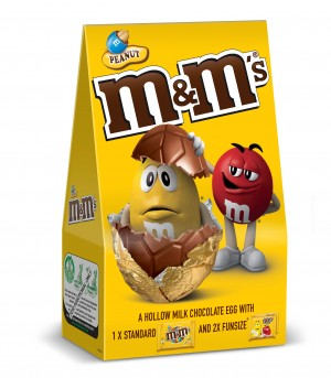 M&Ms Peanut Medium Easter Egg