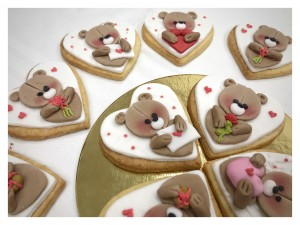 Valentines Themed Cookies