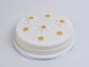 Almond Cake Snowflake