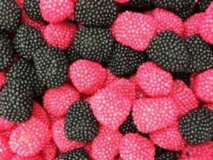 Black & Raspberry
