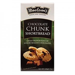 Maclean's Chocolate Chunk Shortbread