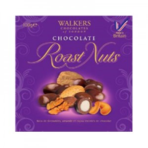 Walkers Chocolate Roasted Nut Assortment