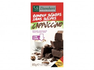 Damhert Without Sugars Chocolate Tablet - Cappuccino