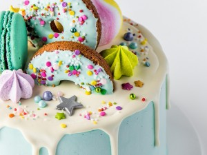 Birthday Cake - Doughnut