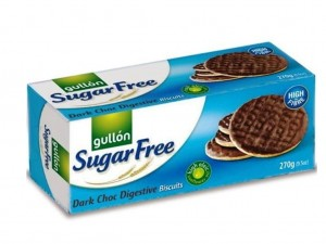 Gullon Sugar Free Dark Chocolate Digestives