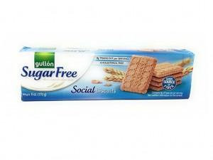 Gullon Sugar Free Social Biscuits