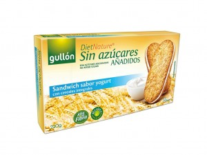 Gullon  No Added Sugars Yogurt Sandwich