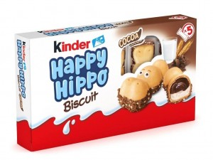 Kinder Happy Hippo Cocoa Biscuit