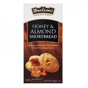 Maclean's Honey & Almond Shortbread