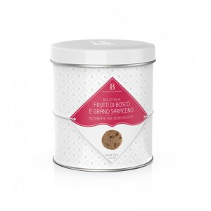 BB Buckwheat & Berry Biscuits Tin
