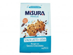 Misura Lactose Free Chocolate Chip Biscuits
