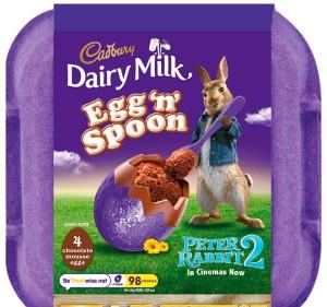 Cadbury Egg n' Spoon Double Chocolate
