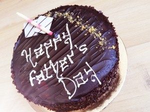 Father's Day Rich Chocolate Cake