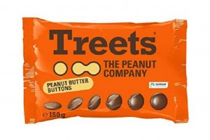 Treets Buttons, 150g