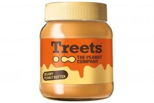 Treets Creamy Peanut Butter