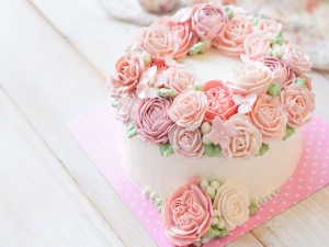 Birthday Cake - Wreath