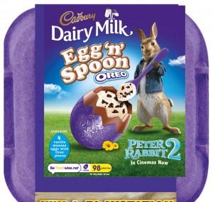 Cadbury Egg n' Spoon Oreo