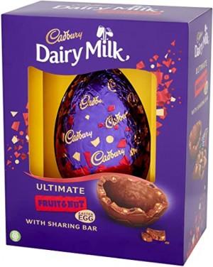 Cadbury Fruit & Nut Premium Egg