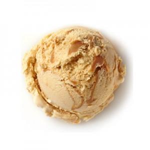 Ice Cream, Banana & Salted Caramel Ripple