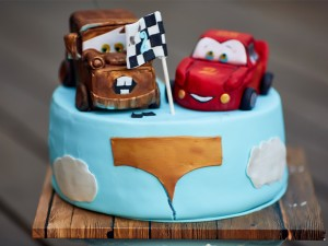 Birthday Cake - Cars