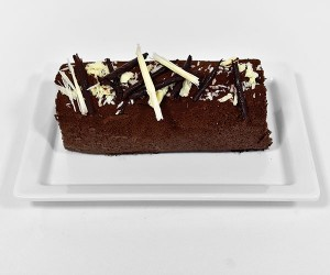 Chocolate & Vanilla Swiss Roll