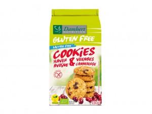 Damhert Gluten & Lactose Free Oatbiscuits Cranberry BIO