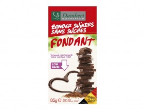 Damhert Without Sugars Chocolate Tablet - Dark