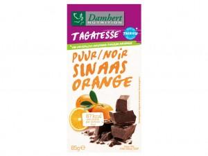 Damhert Without Sugars Chocolate Tablet - Dark Orange