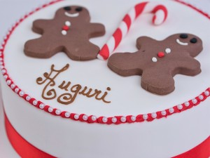 Christmas Cake - Ginger Bread Men
