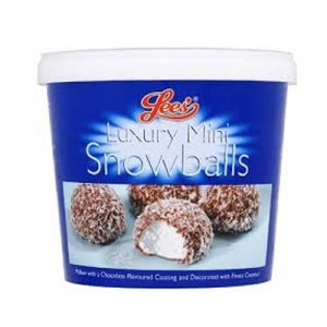 Lee's Snowballs Tub