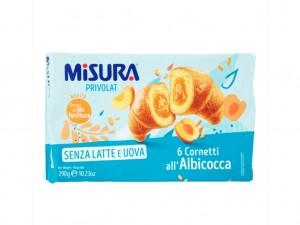 Misura Lactose Free 6 Apricot Cornetti