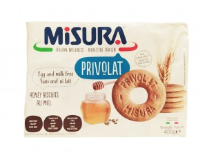 Misura Lactose Free Biscuits with Honey