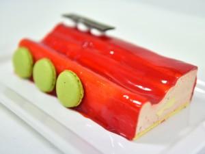 Strawberry Mousse Terrine