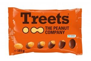 Treets Peanuts, 185g