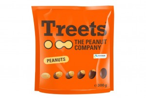 Treets Peanuts, 300g