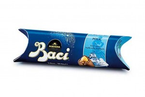 Perugina Baci Tube, 3pcs Milk