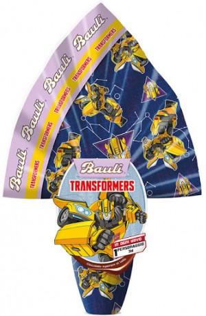 Bauli Easter Egg Transformers