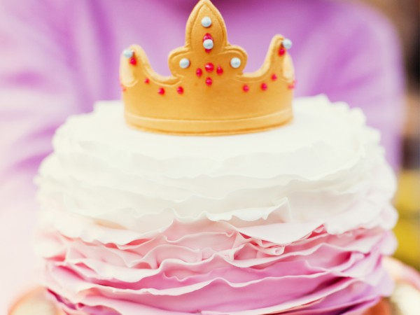 Crown Princess Birthday Cake