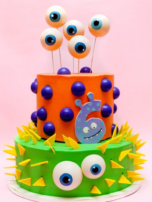 Awe Inspiring Birthday Cake Monster Funny Birthday Cards Online Inifofree Goldxyz